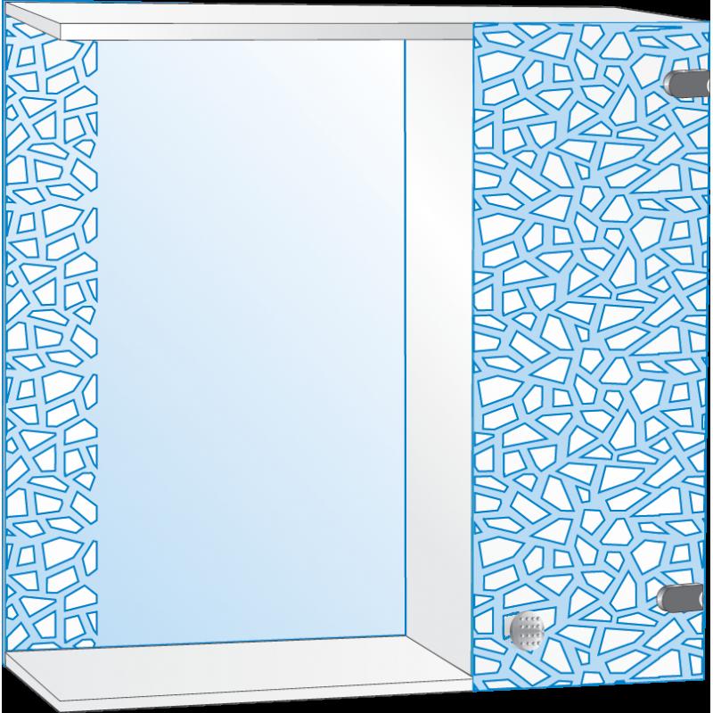 Шкафчик для ванной комнаты ШП № 6