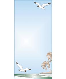 Зеркало с аппликацией ЗДА № 13