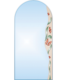 Зеркало с аппликацией ЗДА №16