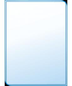 Зеркало эконом ЗО № Э 33