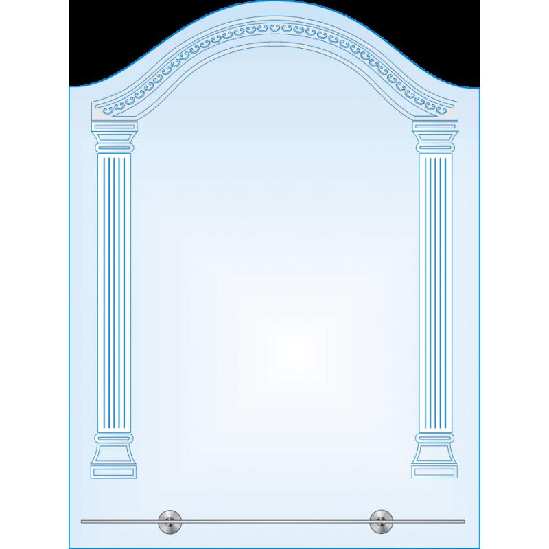 Зеркало с LED-подсветкой ЗОПС № 5