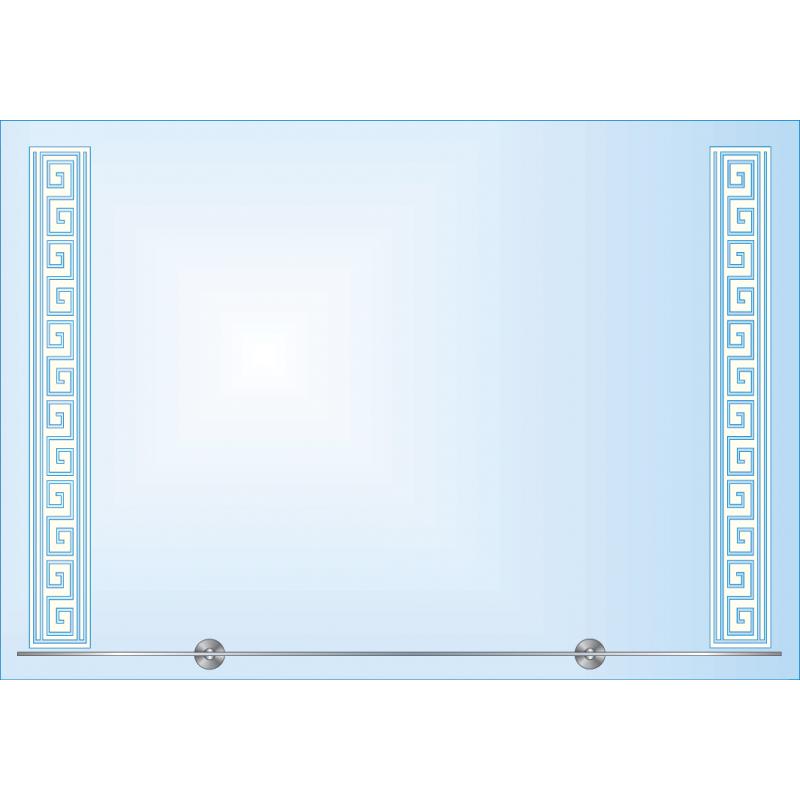 Зеркало с LED-подсветкой ЗОПС № 9
