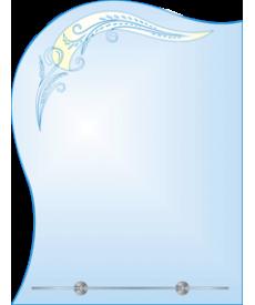 Зеркало с LED-подсветкой ЗОПС № 6