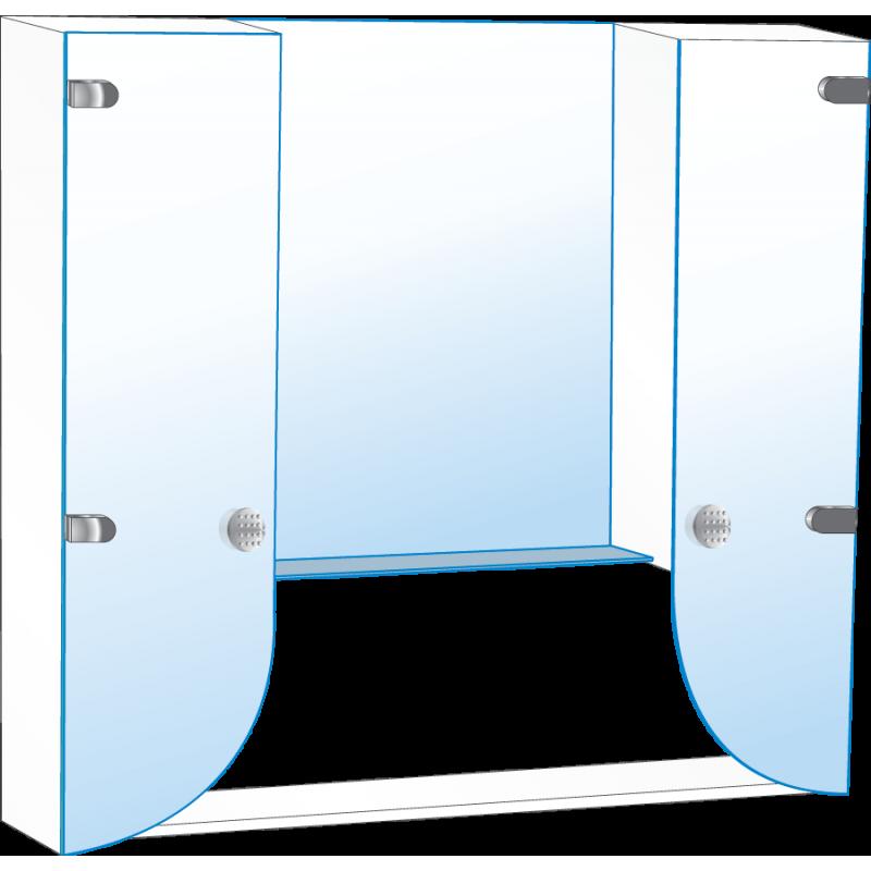 Шкафчик для ванной комнаты Ш № 5