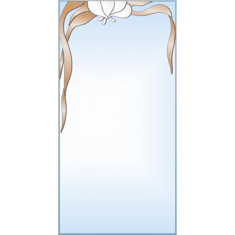 Зеркало с аппликацией ЗОА № 10