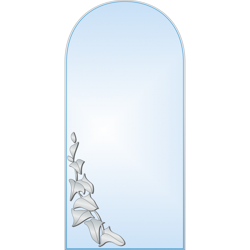 Зеркало с аппликацией ЗОА № 17