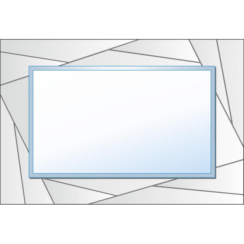 Зеркало с аппликацией ЗДА № 20