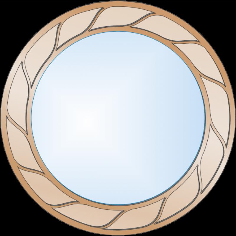 Зеркало с аппликацией ЗДА № 24