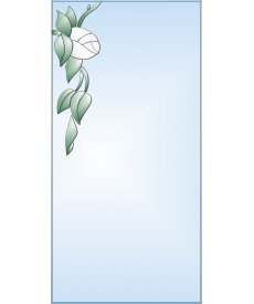 Зеркало с аппликацией ЗОА № 5