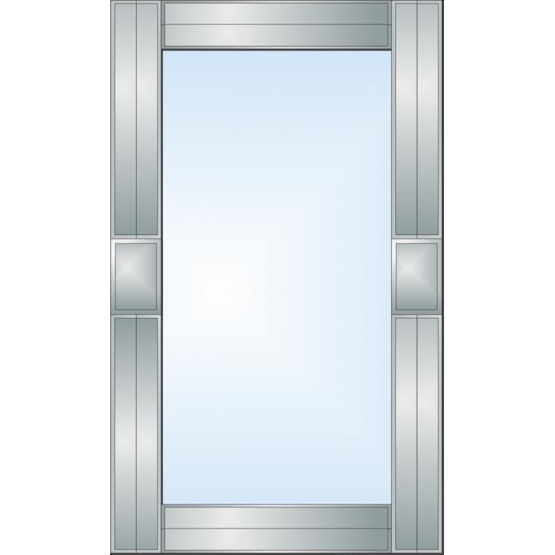 Зеркало с аппликацией ЗОА № 35