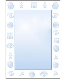 Зеркало матированное ЗО № П 1