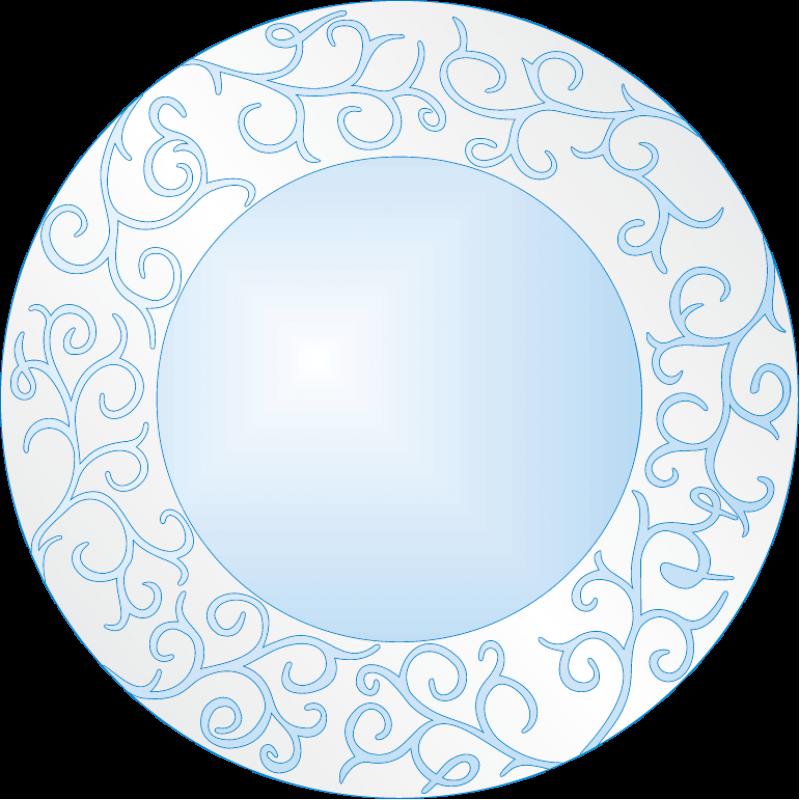 Зеркало матированное ЗО № П 9