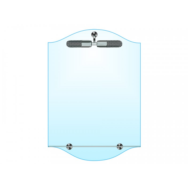 Зеркало одинарное ЗОПС № 6