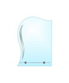 Зеркало одинарное ЗОП № 10