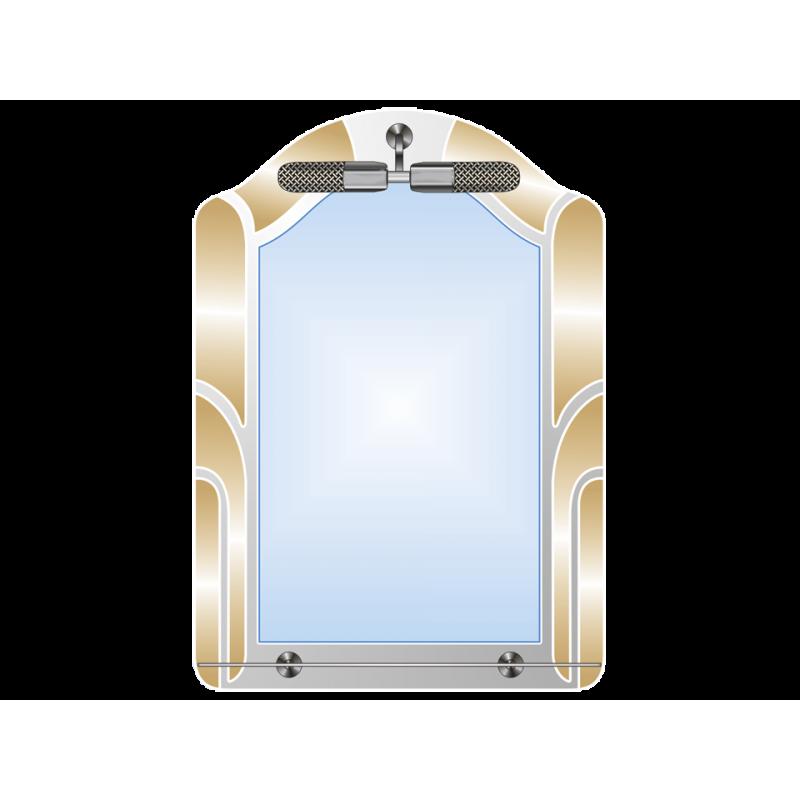 Зеркало двойное ЗДАПС № 28