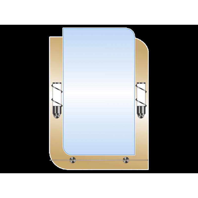 Зеркало двойное ЗДПС № 29