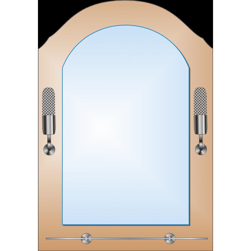 Зеркало двойное ЗДПС № 35