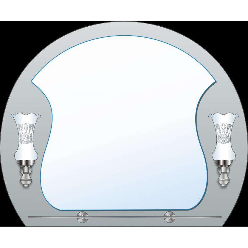 Зеркало двойное ЗДПС № 22