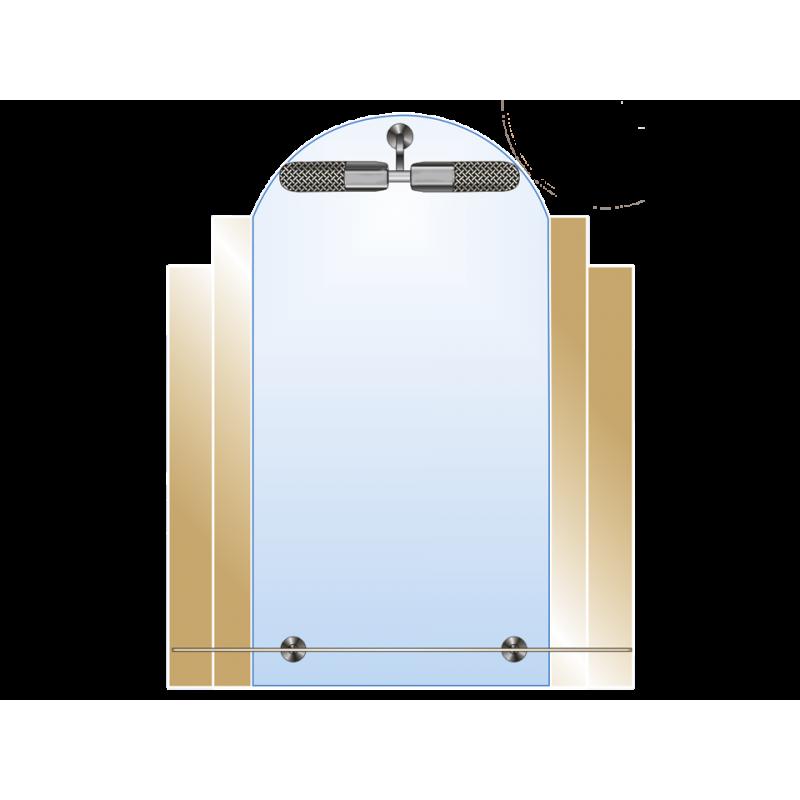 Зеркало двойное ЗДПС № 39