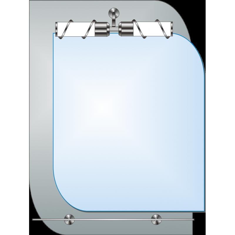 Зеркало двойное ЗДПС № 15