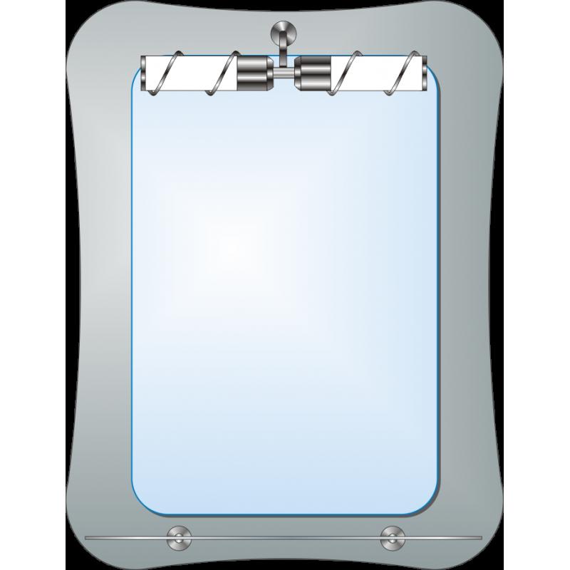 Зеркало двойное ЗДПС № 41