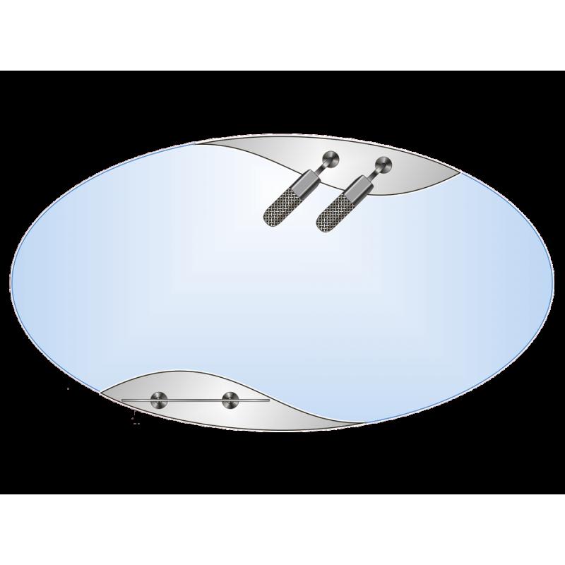 Зеркало двойное ЗДПС № 42