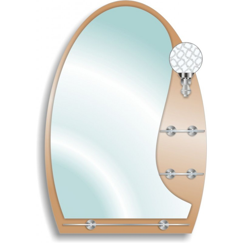 Зеркало двойное ЗДПС № 43