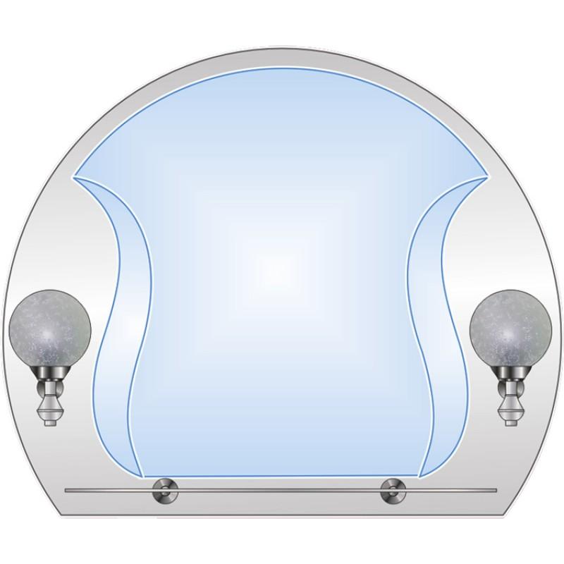 Зеркало двойное ЗДПС № 19