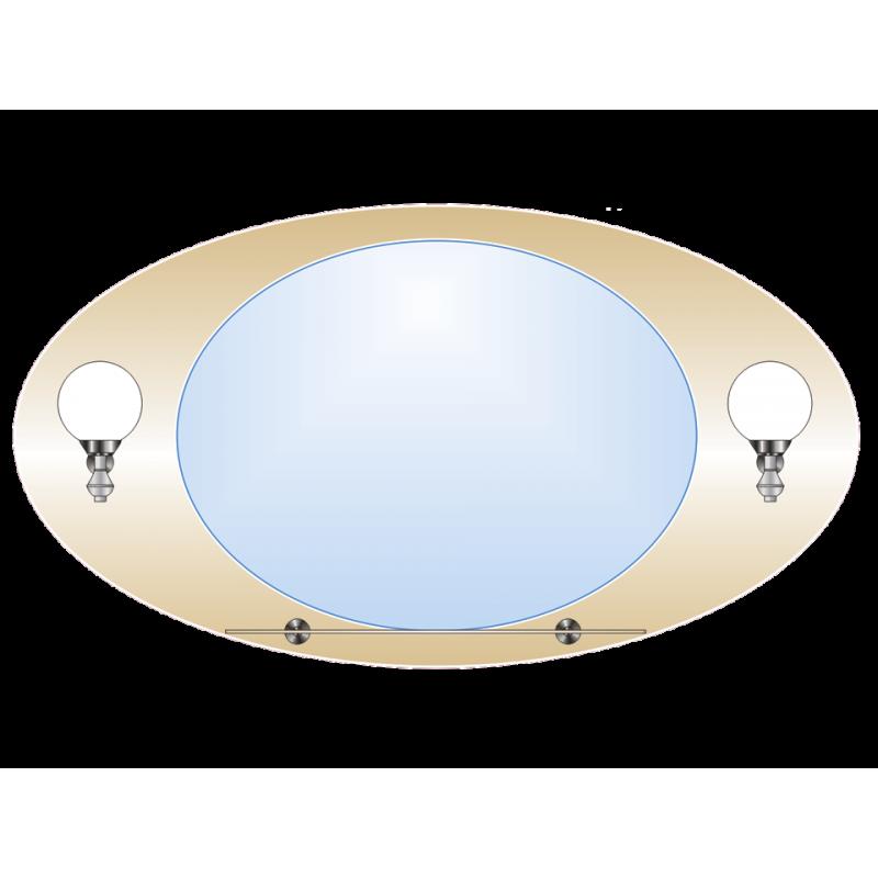 Зеркало двойное ЗДПС № 20