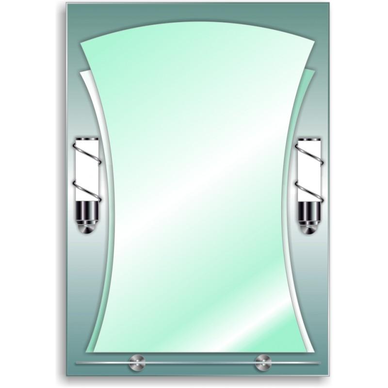Зеркало двойное ЗДПС № 28