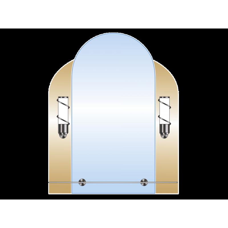 Зеркало двойное ЗДПС № 10
