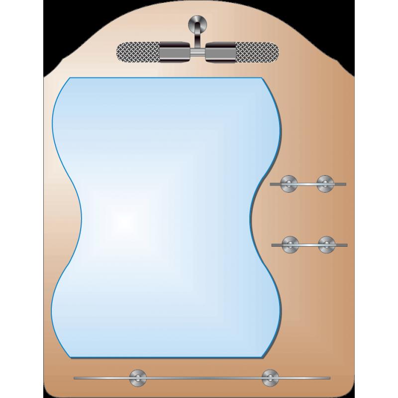 Зеркало двойное ЗДПС № 36